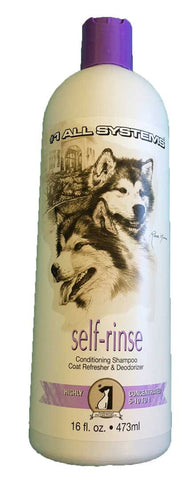#1 ALL SYSTEMS SELF RINSE CONDITIONING SHAMPOO COAT REFRESHER AND DEODORIZER 473ml (DRY SHAMPOO)