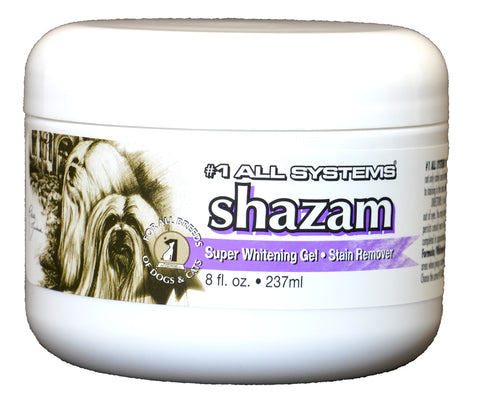 #1 ALL SYSTEMS (SHAZAM) SUPER WHITENING GEL FOR DOGS AND CATS