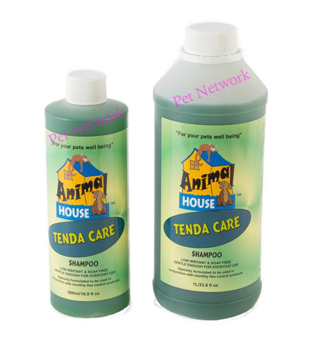 ANIMAL HOUSE TENDA-CARE SHAMPOO - 500 ML