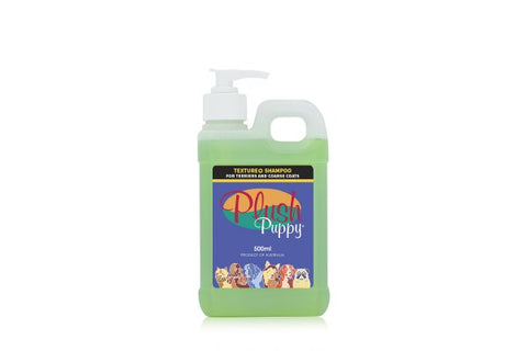 PLUSH PUPPY TEXTURE PLUS + SHAMPOO (Available in 500ML and 1 litre)