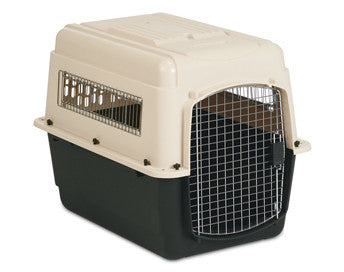 VARI KENNEL MEDIUM (CREAM/BLUE) - 71 X 52 X 55cm - PICK UP IN STORE ONLY
