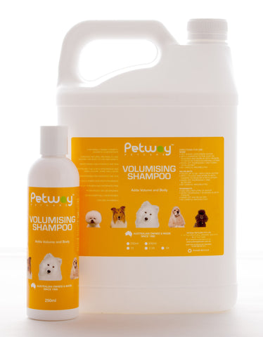 PETWAY PETCARE VOLUMISING SHAMPOO CONCENTRATE - AVAILABLE IN TWO SIZES (WH)