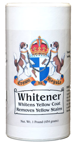CROWN ROYALE WHITENER POWDER FOR DOGS 454GM