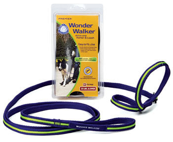 WONDER WALKER ALL-IN-ONE HALTER AND LEASH - SMALL (FOR DOGS UP TO 13.5KG) BLACK