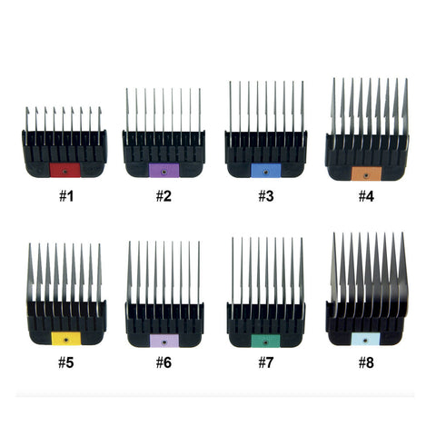 WAHL METAL GLIDE #8 COMB ATTACHMENT 25MM
