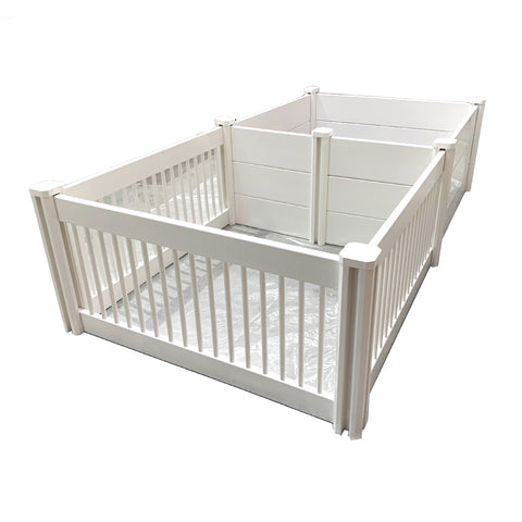 ANIMAL HOUSE WHELPING BOX AND PUPPY PLAY PEN