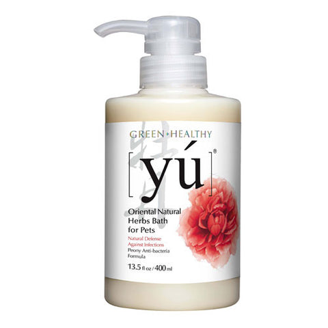 YU SHAMPOO - NATURAL ANTI-BACTERIAL FORMULA - 400ML (EXP 08/14)