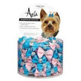 ARIA MADDIE DOG BOWS 100 CANISTER