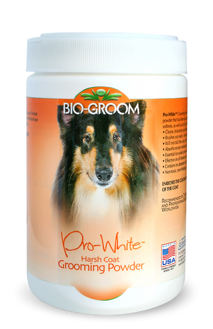 BIO-GROOM PRO WHITE HARSH COAT GROOMING POWDER 226g (8 oz)