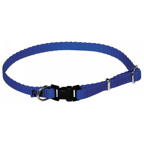 "PRESTIGE 3/8"" ADJUSTABLE PUPPY COLLAR 9-14"" BLUE (23-36CM)"