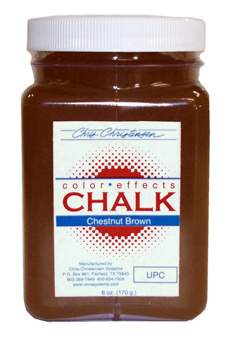 CHRIS CHRISTENSEN  CHESNUT BROWN CHALK 6OZ
