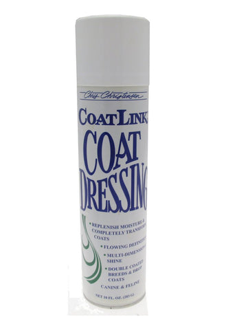CHRIS CHRISTENSEN COATLINK COAT DRESSING 10OZ