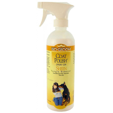BIO-GROOM COAT POLISH SPRAY ON SHEEN (473ML)