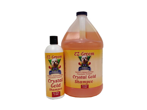E-Z GROOM CRYSTAL GOLD SHAMPOO 3.8 LTR (1 Gallon)