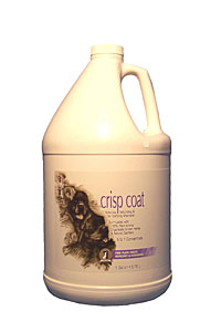 #1 ALL SYSTEMS CRISP COAT DOG AND CAT SHAMPOO - 1 GALLON