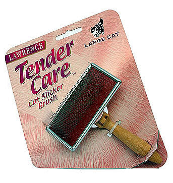 LAWRENCE TENDERCARE SLICKER BRUSH - LARGE CAT