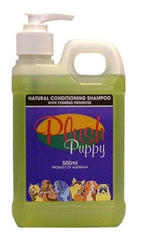 PLUSH PUPPY NATURAL CONDITIONING EVENING PRIMROSE SHAMPOO 500ML