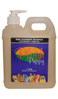 PLUSH PUPPY DEEP CLEANSING SHAMPOO 500ML