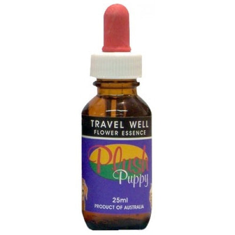 PLUSH PUPPY TRAVEL WELL DROPS