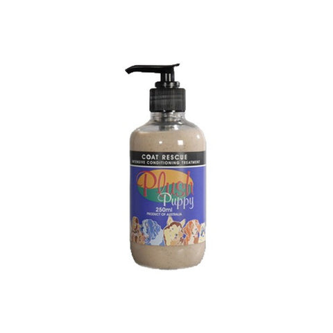 PLUSH PUPPY COAT RESCUE 250ML