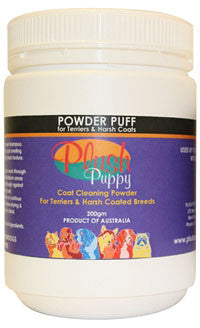 PLUSH PUPPY POWDER PUFF TERRIER 200g