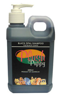 PLUSH PUPPY BLACK OPAL SHAMPOO 500ML