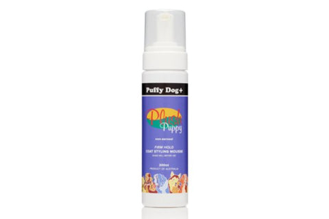PLUSH PUPPY PUFFY DOG+  FIRM HOLD MOUSSE 200ml