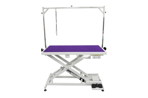 EXTRA LOW-LOW ELECTRIC LIFT GROOMING TABLE