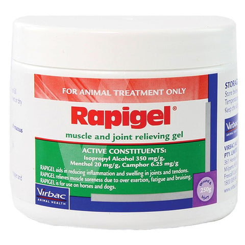VIRBAC RAPIGEL MUSCLE AND JOINT RELIEVING GEL (250G)