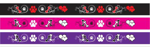 SHOW TECH GROOMING NOOSE NYLON 15mm x 53cm - BONES, HEARTS AND PAWS