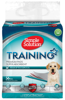 SIMPLE SOLUTION PREMIUM TRAINING PUPPY PEE PADS (pack of 56)