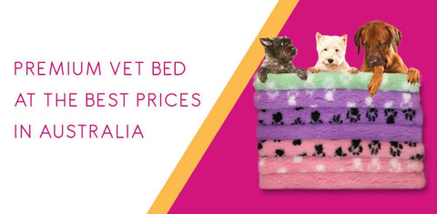 50 X 75CM PIECE - VET BED (ASSORTED COLOURS) - MAX 4 PIECES