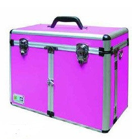 SHEAR MAGIC ALUMINIUM GROOMING BOX - PINK
