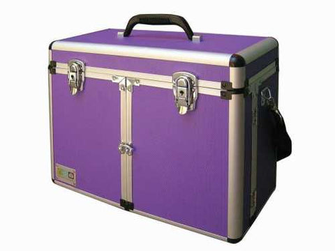 SHEAR MAGIC ALUMINIUM GROOMING BOX - PURPLE