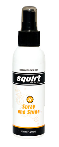 SQUIRT SPRAY N SHINE for DOGS - 125ML