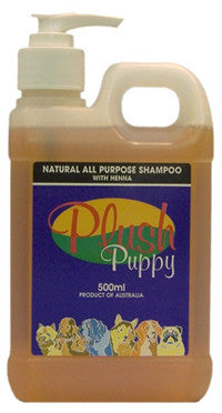PLUSH PUPPY ALL PURPOSE HENNA SHAMPOO 500ML