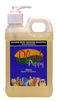 PLUSH PUPPY BODY BUILDING SHAMPOO 500ML