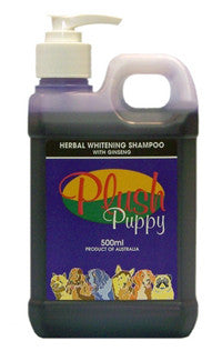 PLUSH PUPPY HERBAL WHITENING SHAMPOO 500ML