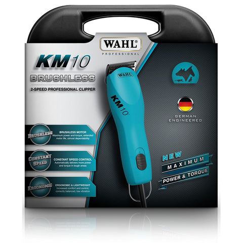 * SPECIAL * WAHL KM10 CLIPPER KIT - WITH WAHL ULTIMATE #10 BLADE