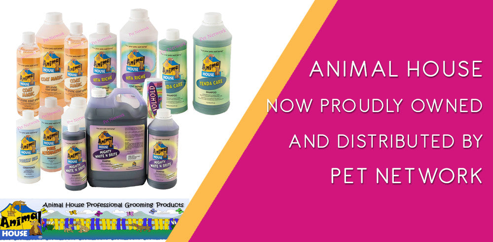 Animal House Grooming Products owned and distributed by Pet Network