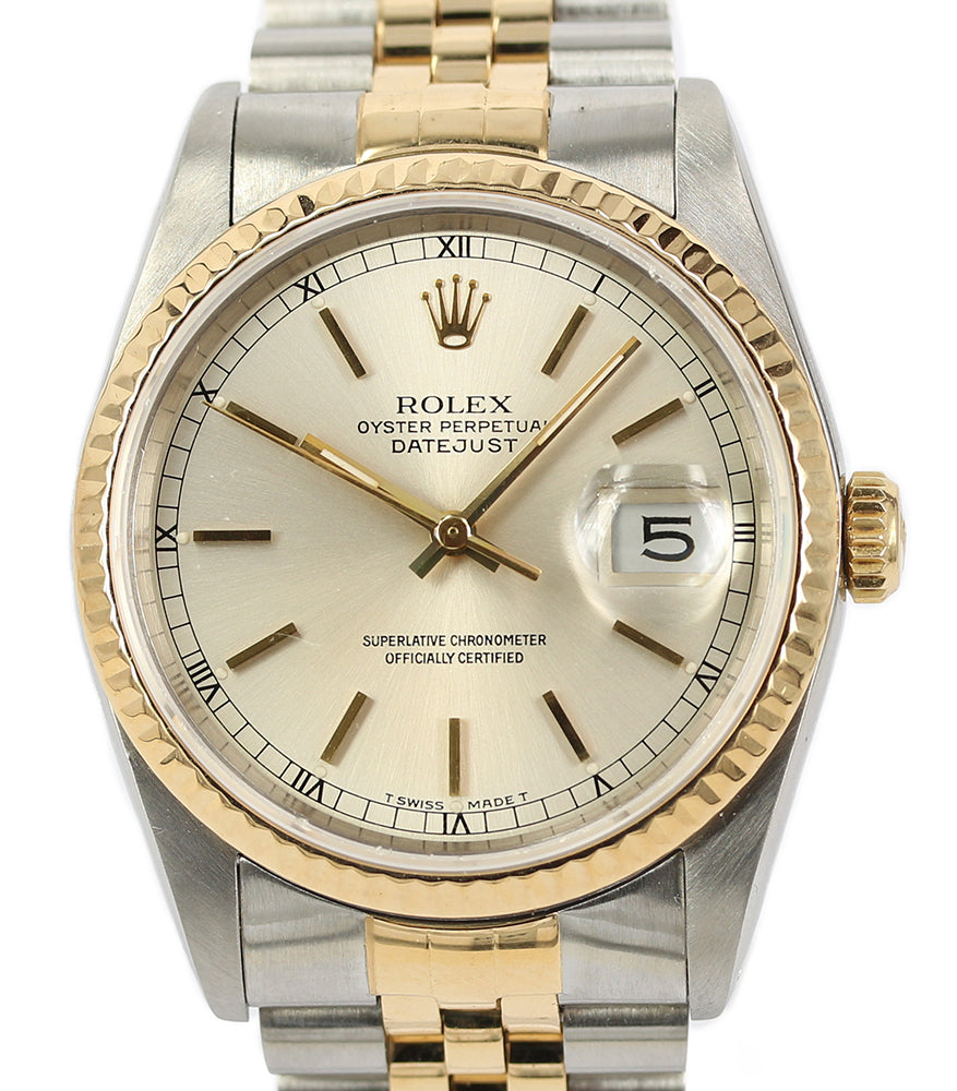 Rolex Oyster Perpetual Mens Datejust