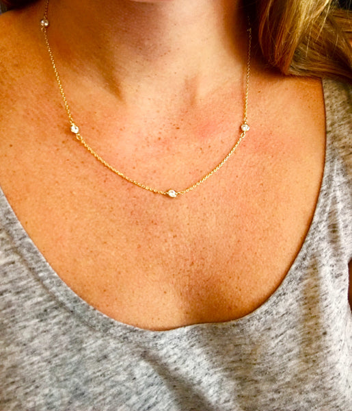 Ashley CZ Necklace