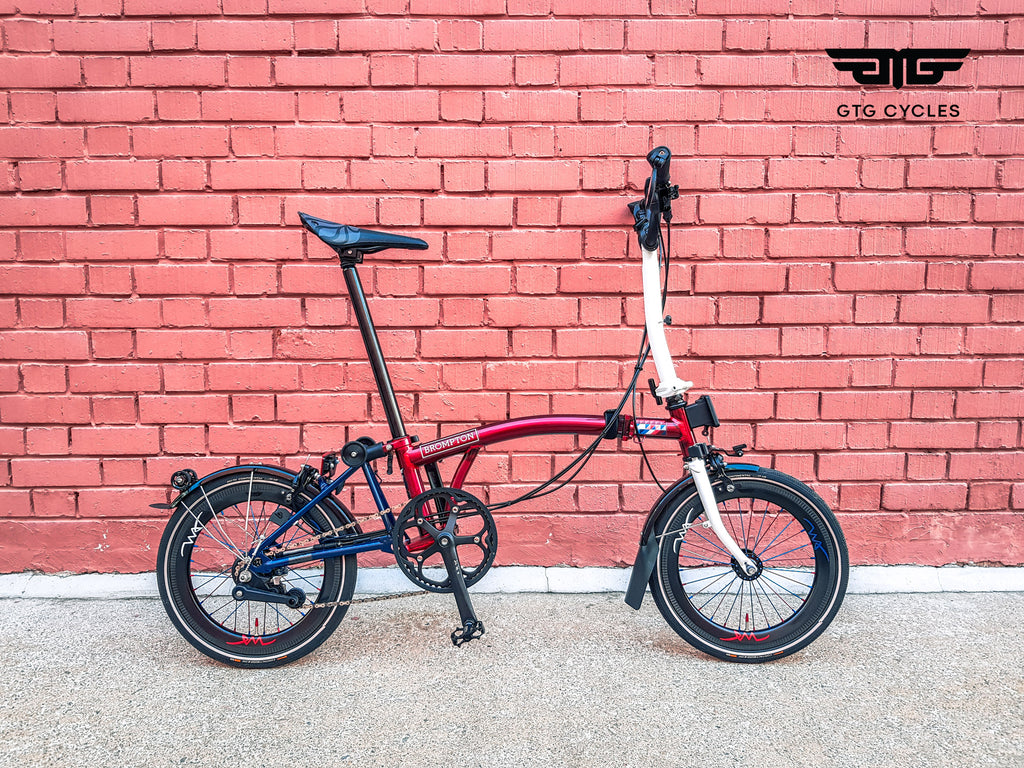 Brompton Carbon Wheels by GTG Cycles
