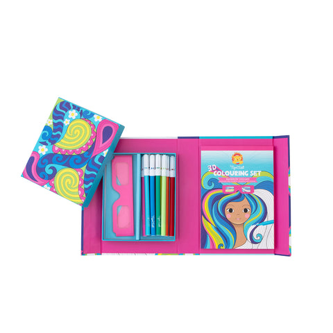 3D Colouring Set-Rainbow Dreams