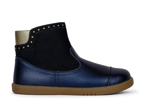 Belle Boot Navy Shimmer Iwalk