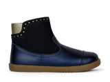 Kids Belle Boot Navy Shimmer