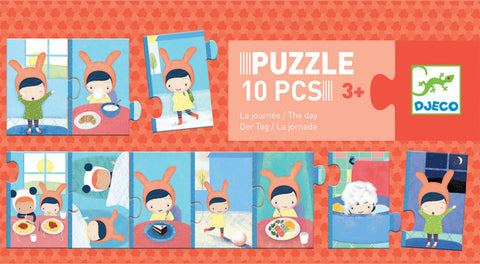 Djeco Progressive Puzzle The Day