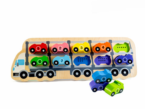 Djeco Wooden Car Puzzle