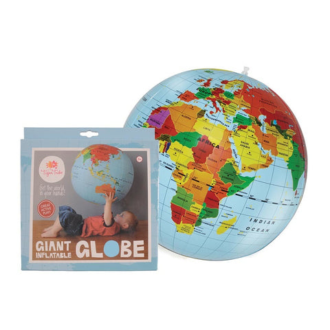 Inflatable World Globe. 50cm