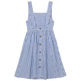 Midi Dress seaside stripe